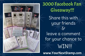 3000 FB Fan Giveaway - Nov